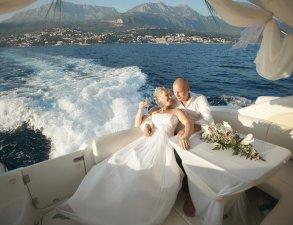 Свадьба на яхте
