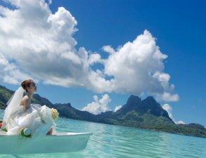 Свадебная церемония на пляже «богема»